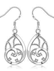 Silver Plated Fashion Statement Jewelry Jewelry Silver Jewelry Wedding Party Daily Casual Sports 1 pair