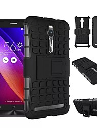Kemile @ Heavy Duty Stand Cases Robot Phone Hard Back Cover Case for ASUS ZenFone 2 ZE551ML (Assorted Colors)