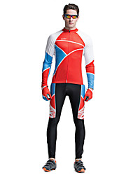 Riding Bicycle Service Men's Clothing Set Speed Surrender Long Sleeved Geometric Charm