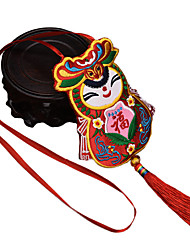 China Hand Embroidery Pendant--Small Fuwa