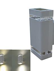 1 pièces GU10 8 W X LED haut potentiel LM 3000-3200K/6000-6500K K Blanc chaud/Blanc froid Appliques AC 85-265 V