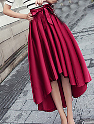 Women's Vintage Bowknot Is Bust Skirt
