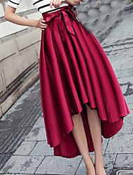 kvinders vintage bowknot er buste nederdel