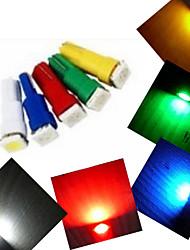 Ding Yao Luz de Decoração Decorativa T5 1.5W 100-150 LM K Branco Frio / Vermelho / Azul / Amarelo / Verde 1 SMD 5050 5 pçs AC 12 V