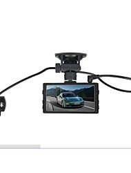 "Dual Camera Car Video Recorder GT100 Car DVR 3.0"" 5MP 1080P Night Vision Rearview Mirror 32GB TF Card(Color Random)"