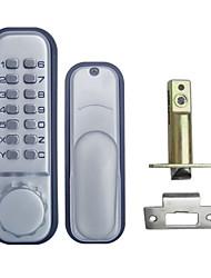 tous les temps mécanique sans clé porte numérique tache verrou chrome os12b