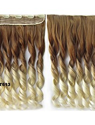 Colorful Hair Clip in Hair Extensions