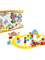Early Development Children toy Train with Track Railway Set Have Music and Light