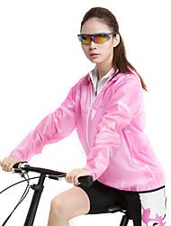 forider® outdoor droge huid vacht regenjas casual kleding winddicht lichtroze waterafstotende beschermende kleding