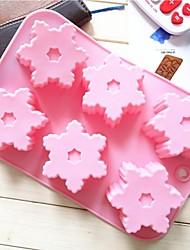 Fashion Slicone Cake Decorating Mold Ice Soap Modelling Tools Kitchen Dessert Baking Cooking Mould (Random Color)