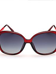 Sunglasses Women's Classic / Elegant / Modern / Fashion Oversized Black / White / Pink / Red Sunglasses Full-Rim