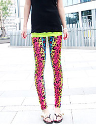 Women's Sexy Bodycon Casual Cute Stretchy Thin Skinny Pants (Silk)