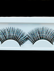 Thick Synthetic Hair Eye Lashes Handmade False Eyelashes for Lady