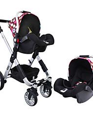 YKO ™ Tipo bebé cesta seguridad del asiento del cochecito de bebé engrosamiento esponja de alta gama peso cómodo 0-13kg (0-18month)