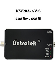 Lintratek AWS Mobile Signal Booster 1700Mhz 2100Mhz Cell Phone Signal Booster Amplifier 20dbm Mini Size
