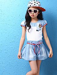 costumes ( Coton mélangé ) Informel/Mignon