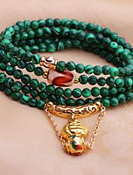Women's Chain Bracelet Quartz Jade