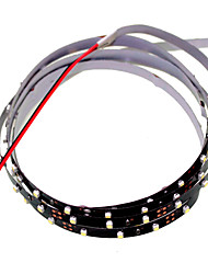 120cm 5W 90x3528SMD White / Cool White  Light LED Strip Lamp for Car (DC 12V)