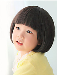 Lovely Baby Fashion Children BOBO Head Wig 4-8 Years Old Baby Is Special