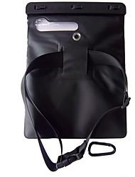 wb-09a 12 pouces ipad air / iPad 2/3/4 boîtier étanche avec correspondance clip abs, bandoulière et crochet