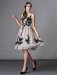Homecoming TS Couture Cocktail Party Dress - Ball Gown Scoop Knee-length Lace