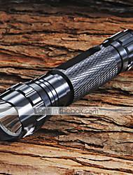 Lanternas LED / Lanternas de Mão LED 5 Modo 1300 Lumens Foco Ajustável / Superfície Antiderrapante Cree XM-L T6 18650.0Campismo /