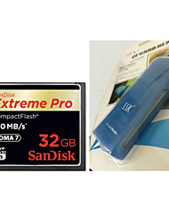 SanDisk CompactFlash 32G CFXPS 160M/S High Speed Camera Memory Card And   CF Card Reader