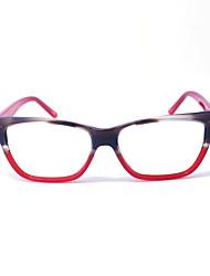 [lentes livres] acetato de caminhadas full-jante óculos de computador prescrição moda das mulheres