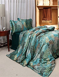 Turquoise Silk Duvet Covers Queen King Size