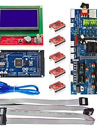 3d панель управления (3d1.57 доска 2560 R3 + 3d12864 + 5 люкс 4988)