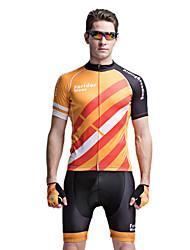 forider® manga corta ciclismo bicicleta Jersey trajes de hombre de ropa para hombres, juegos guerreros cheyenne