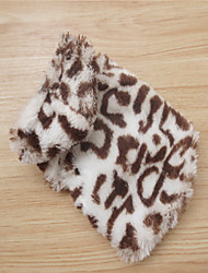 Holdhoney Leopard Polyester/Cotton Blend Small Hoodies SpecialFor Small Pets Dogs (Assorted Sizes) # LT15050023