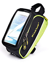 Coolchange Bike Frame Bag Touch Screen Bag for Cell Phone within 4.7 Inch