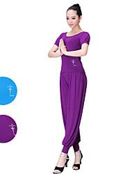 Ballet Tops Women's Performance Modal 1 Piece Blue/Purple