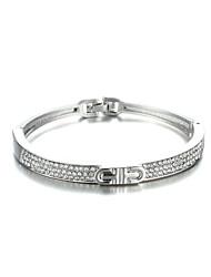 Sjewelry Girls Belt Type Rose Gold Plating Bracelet