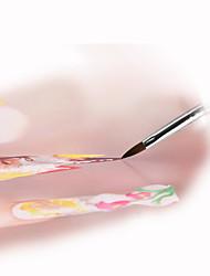 1шт инструменты ногтей высшего сорта акриловая кисть