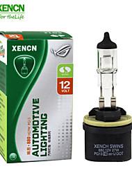 2pcs xencn 880 12v 27w 3200k série clara carro original dos faróis de alta qualidade lâmpadas de halogéneo bulbo auto nevoeiro