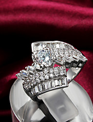 Party Gold Plated Statement Ring Engagement Rings 2015 New Design Hottest Fashion