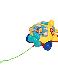 Baby Gift Toy Educational Plane can Drag with Music Light and Stories