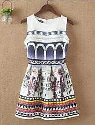 Women's Print Dress