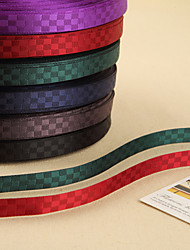 Beautiful Polyster Plaid Ribbon (More Colors)