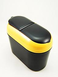 intérieur de la voiture avec boîte de poubelle voiture flip Car Styling couleur aléatoire