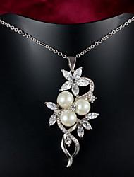 fiesta de la venta caliente / chapado en oro ocasional de la joyería / de la muchacha colgante de collar de la mujer