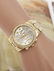 Women's Watches Swiss Quartz Alloy Diamond Watches Fashion Gold Watch