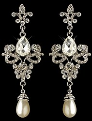 Carbonneau Gorgeous Vintage Chandelier Wedding Earrings For Women