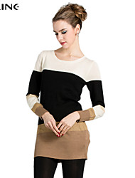 ALINE®Women's CLOTHING STYLE Elasticity THICKNESS Sleeve Length Sweater Style (Fabric)