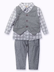 2015 Spring Baby Gentleman Clothes 0-24 Months Baby Boys Romper Infant Long Sleeve Climb Clothing Kids Body Suit