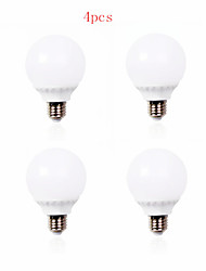 4pcs HRY® 7W E27 30XSMD2835 600LM LED Globe Bulbs LED Light Bulbs(220V)