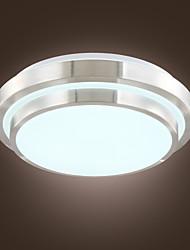 Criativo moderno LED embutida Galvanoplastia Alumínio Luz Monte Acrílico