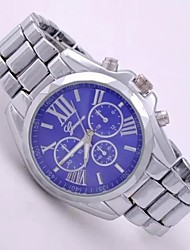 Ladies'  Wrist Watch High-Grade Good Quality Geneva Steel Belt Quartz Analog Fashion Watch Wrist Watch Cool Watches Unique Watches